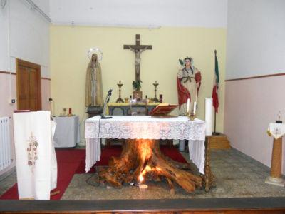 0022 Chiesa S.Barbara Presso La Direzione Munizionamento M.M.-Altare-Taranto