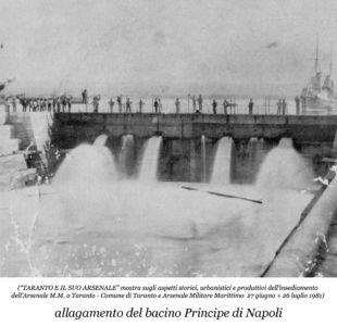 0051 Regio Arsenale Bacino Principe Di Napoli-Allagamento A Pieno Regime
