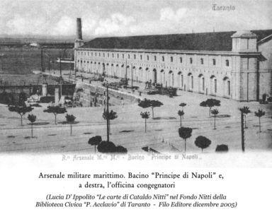 0057 Regio Arsenale Bacino Principe Di Napoli E Officina Congegnatori