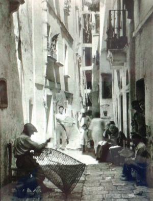 0063 Città Vecchia-Famiglie Di Pescatori-Nasse-1951