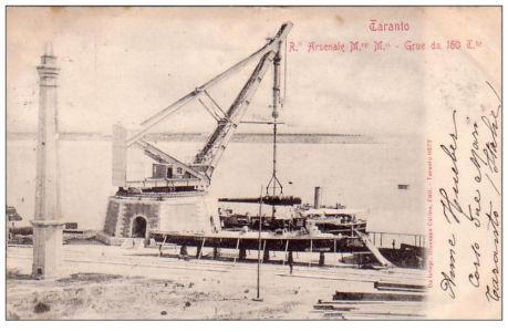 0065 Regio Arsenale-Grue Da 160 Tonnellate-1901
