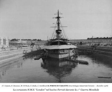 0070 Corazzata H.M.S.London-1915 1918
