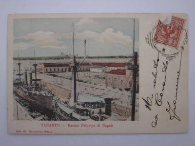 0071 Regio Arsenale Bacino Principe Di Napoli-Cartolina