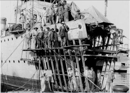 0076 RCT Carini-Ricostruzione Prora - 30.08.1918