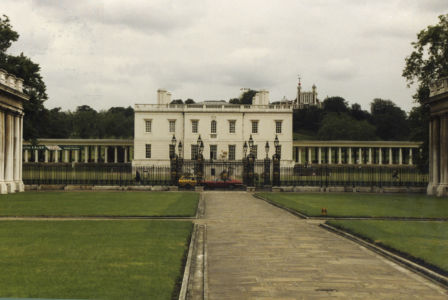 009 Greenwich. Queen\'s House. August 1991