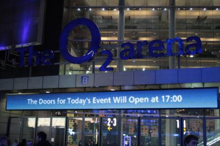 019 Greenwich. O2 Arena. 09.12.2012