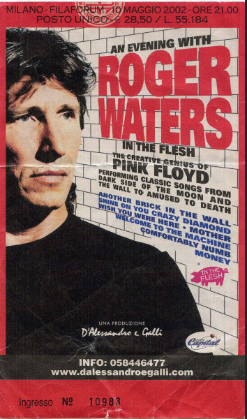 01.Roger Waters (10.05.2002, Assago (Milano), Filaforum)