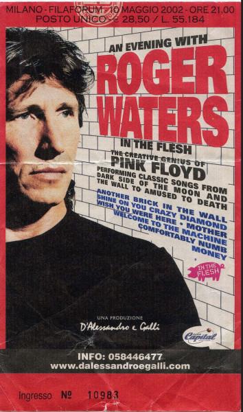 01.Roger Waters (10.05.2002, Assago (Milano), Filaforum)