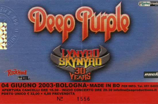03.Deep Purple (04.06.2003,Bologna, Made in BO)