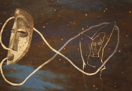 """Opera esposta al Museo Picasso, Barcellona, nella Mostra """"Post - Picasso, Contemporary Reactions"""". Aprile 2014"""