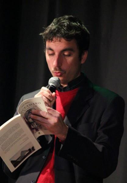 """Mario Desiati presenta """"Dolceamaro"""", Teatro P.Turoldo 29.12.2013"""